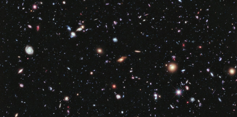 THERE'S A LOT TO CATALOGUE OUT THERE // IMAGE: NASA; ESA; G. ILLINGWORTH, D. MAGEE, AND P. OESCH, UNIVERSITY OF CALIFORNIA, SANTA CRUZ; R. BOUWENS, LEIDEN UNIVERSITY; AND THE HUDF09 TEAM