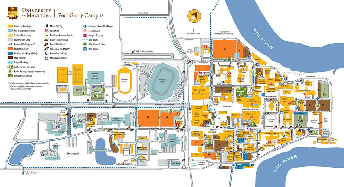 University Of Manitoba Campus Map University Of Manitoba Map | Bedroom 2018