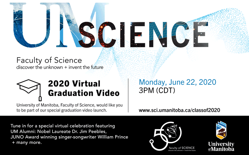 2020 Virtual Faculty Of Science Graduation Video Launch Science Co Op